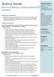 Intelligence Analyst Resume Financial Modeling Resume 33 Accountant Resumes In Doc Free