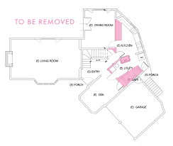 our main floor demo plan emily henderson