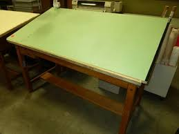 Mayline Oak Drafting Table This Mayline Oak Four Post Drafting Table Is An Excellent Value