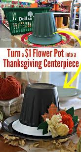 dollar store thanksgiving hat centerpiece thanksgiving hat dollar
