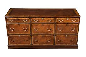 Mahogany Filing Cabinet Mahogany File Cabinet Credenza With Six Drawers