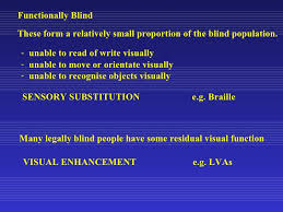 Legally Blind Definition The Definitions And Demographics Of Low Vision