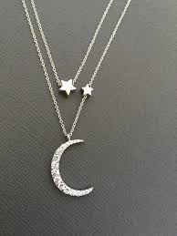 I Love You To The Moon And Back Personalized Necklace Best 25 Star Necklace Ideas On Pinterest Star Jewelry
