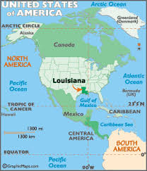 louisiana map in usa louisiana map geography of louisiana map of louisiana
