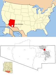 Map Of Tucson File Pima County Arizona Usa Casas Adobes Highlighted Svg