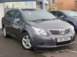 used toyota avensis t2 for sale motors co uk