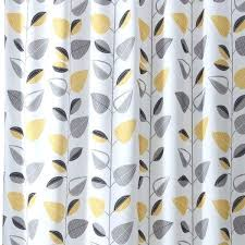 Grey And Yellow Shower Curtains Gray And Yellow Shower Curtains Nautical Shower Curtain For Boys