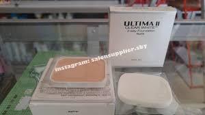Bedak Ultima Ii Clear White ultima ii clear white 2 way foundation refil 10gr 01 buff daftar