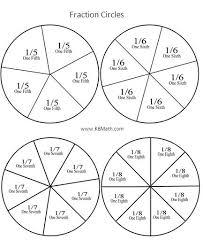 fraction circle outline jpg