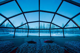 finland northern lights hotel stay in a glass igloo at kakslauttanen igloo hotel finland