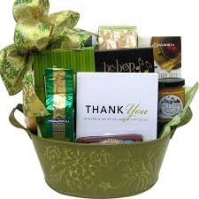 thank you basket a special thank you gift basket