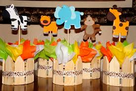 Baby Shower Centerpieces For Boy by Safari Baby Shower Decorations Decorating Of Party