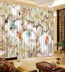 online get cheap butterfly blackout curtains aliexpress com