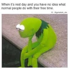 Gym Rest Day Meme - memes about the gym