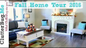fall home decor tour 2016 youtube