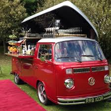 the cocktail car a vw bus ready to party