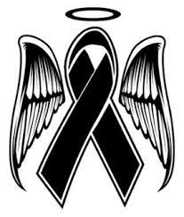 memorial ribbons memorial ribbon decal sticker