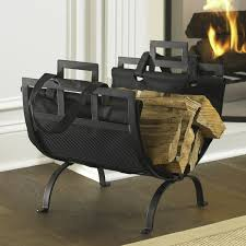 Fireplace Storage by Ideas Firewood Storage Rack Log Holder Indoor Fireplace Wood