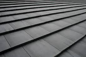 Flat Tile Roof Charcoal Flat Cement Roof Tile