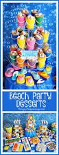 beach themed party ideas u0026 under the sea desserts