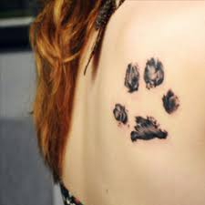 paw print tattoo meanings itattoodesigns com