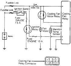 1989 toyota land cruiser cooling fan wiring diagram