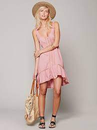 free people parisian slip 88 00 in blush and black colors