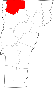State Of Vermont Map by File Map Of Vermont Highlighting Franklin County Svg Wikimedia
