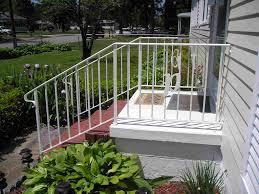 wrought iron porch railings design