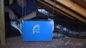 venmar ea1500 air exchanger installation in attic of a house youtube