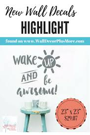 174 best inspirational images on pinterest vinyl decals vinyl wake up and be awesome inspirational wall decals vinyl lettering sticker art for home decor