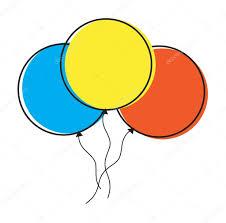 palloncini clipart clipart palloncini colorati â vettoriali stock â baavli 57384123