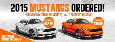 2015 mustang horsepower cj s is getting two 2015 mustangs plus horsepower numbers