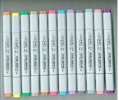 suenoikub99 best buy copic markers 12 piece stamping soft pastel set