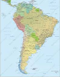 south america map aruba digital political map south america 1292 the world of maps