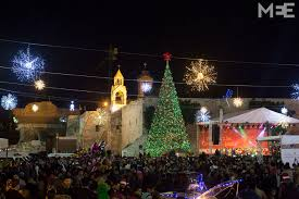 in pictures christmas in bethlehem middle east eye