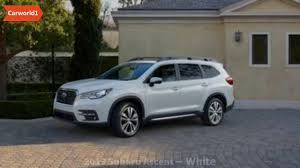 subaru cars white 2019 subaru ascent white car brands youtube