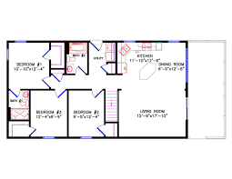 floor plans 3 bedroom 2 bath cottage