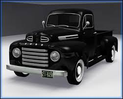 1950 ford up truck fresh prince creations sims 3 1950 ford f 1 up truck