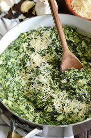 the best creamed spinach the novice chef
