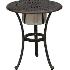 Umbrella Hole Ring Set by Patio End Table With Umbrella Hole Home Design Ideas