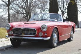 maserati fiat classic 1960 maserati 3500 vignale spyder cabriolet roadster for