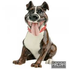 staffordshire bull terrier ornament from ruddick garden gifts