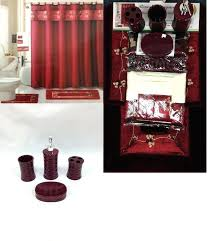 Bathroom Rugs And Accessories Burgundy Bathroom Accessories And Plum Bathroom
