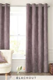 Plum Blackout Curtains Purple Eyelet Curtains Purple Blackout Eyelet Curtains Next Uk
