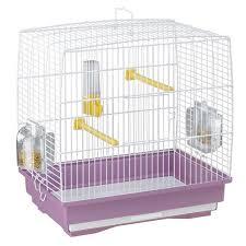 gabbie per canarini gabbia canarini rettangolare e resistente con accessori ferplast