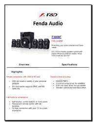 best speakers for home theater 5 1 calaméo f u0026d f3000f 5 1 speakers for pc best multimedia