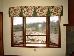 Bay Window Valance Modern Red Valances For Bay Windows Tricks To Make Image Of Green