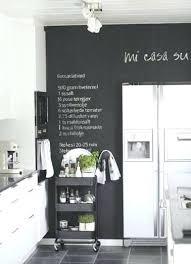 cuisine mur noir tableau noir aimante cuisine cethosia me