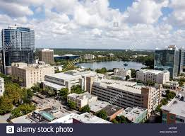 orlando florida downtown historic district skyline office